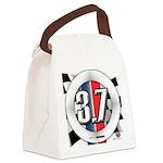 3.7 ROUND Canvas Lunch Bag
