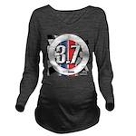 3.7 ROUND Long Sleeve Maternity T-Shirt