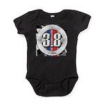 3.8 LOGO Baby Bodysuit