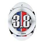 3.8 LOGO Ornament (Oval)