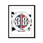 3.8 LOGO Framed Panel Print