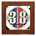 3.8 LOGO Framed Tile