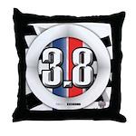 3.8 LOGO Throw Pillow