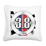 3.8 LOGO Square Canvas Pillow