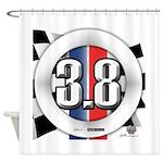 3.8 LOGO Shower Curtain