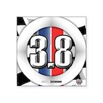3.8 LOGO Sticker