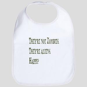 Not Zombies Geenr Bib
