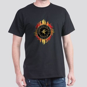 Hunger Games Tick Tock Flames Dark T-Shirt