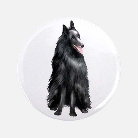 "Belgian Shepherd 1 (JTD) 3.5"" Button"