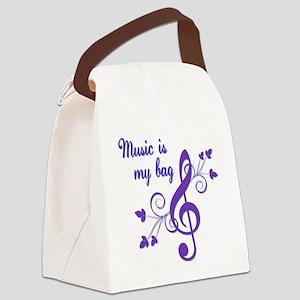 music bag Canvas Lunch Bag