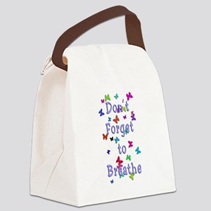 Breathe! Canvas Lunch Bag