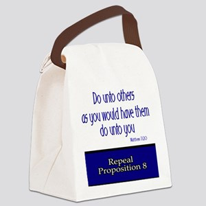 Repeal Prop 8 Canvas Lunch Bag