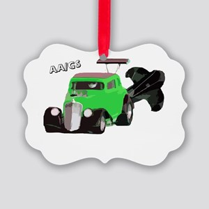 AA/GS Green Willys Ornament