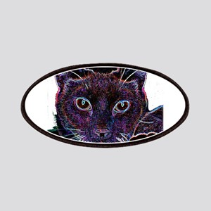 glowingcat black background copy Patches
