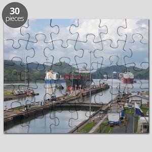 Miraflores Locks, Panama Canal Puzzle