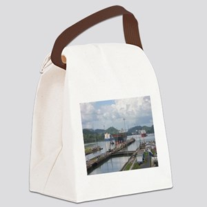 Miraflores Locks, Panama Canal Canvas Lunch Bag