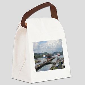 Miraflores Locks, Panama Canal Canvas Lunch Bag