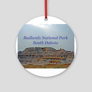badlandscover Ornament (Round)