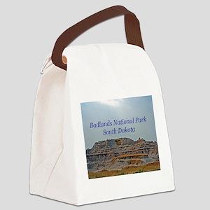 badlandscover Canvas Lunch Bag