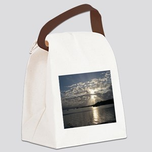 Sunset in Bocas del Toro Canvas Lunch Bag