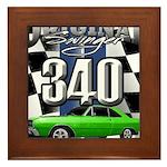 340 swinger Framed Tile