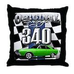 340 swinger Throw Pillow