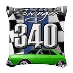 340 swinger Woven Throw Pillow