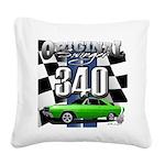 340 swinger Square Canvas Pillow