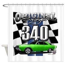 340 swinger Shower Curtain