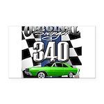 340 swinger Rectangle Car Magnet