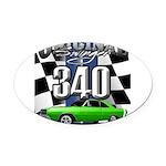 340 swinger Oval Car Magnet