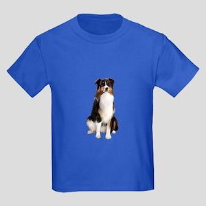 Aussie Shep (Tri3) Kids Dark T-Shirt