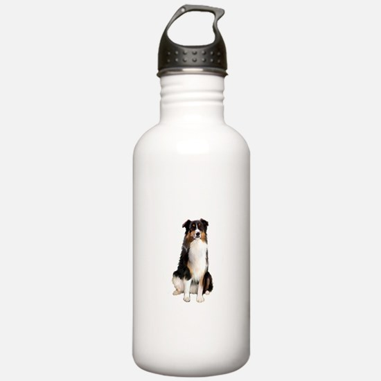 Aussie Shep (Tri3) Water Bottle