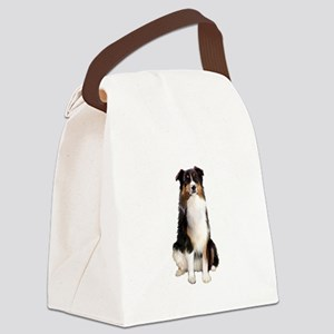 Aussie Shep (Tri3) Canvas Lunch Bag