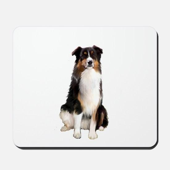 Aussie Shep (Tri3) Mousepad