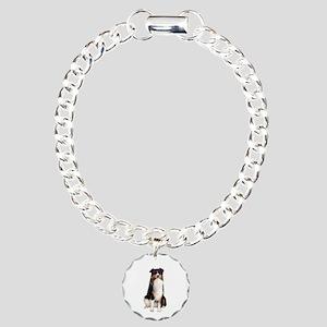 Aussie Shep (Tri3) Charm Bracelet, One Charm