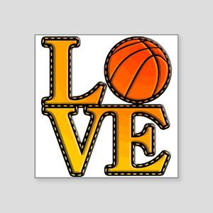 basketball love Sticker