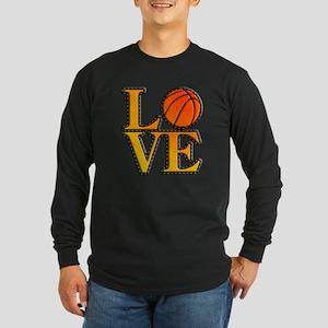 basketball love Long Sleeve T-Shirt