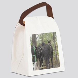 Percheron Team Canvas Lunch Bag