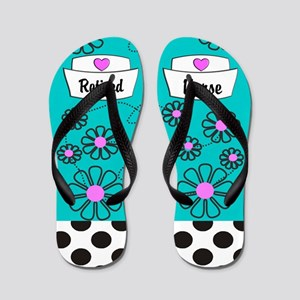 retired nurse ff 3 Flip Flops