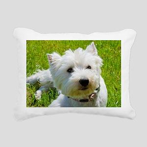 Biene Rectangular Canvas Pillow