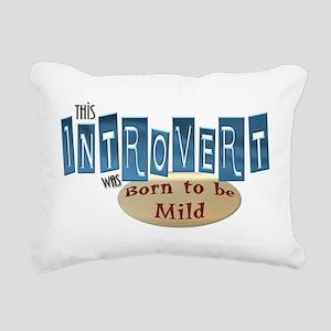 Introvert Rectangular Canvas Pillow