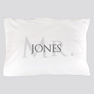 Half of Mr and Mrs set - Mr Pillow Case