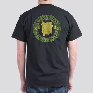 XX State of Jefferson XX Dark T-Shirt