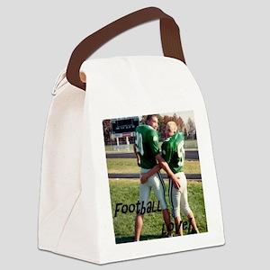 Football Love! Canvas Lunch Bag