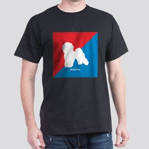 Bichon Diagonal Dark T-Shirt