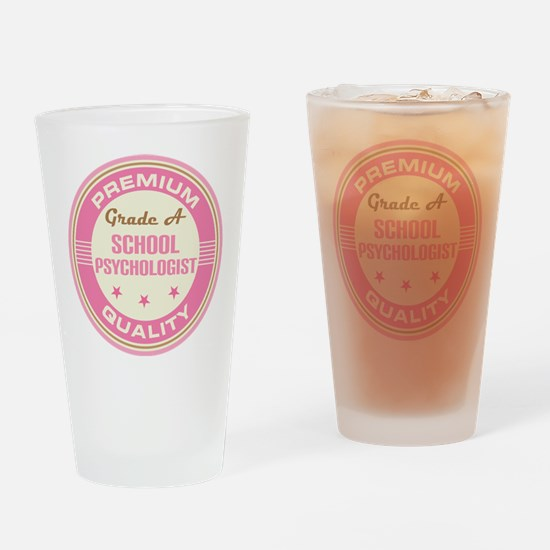 Premium quality School psychologist Drinking Glass