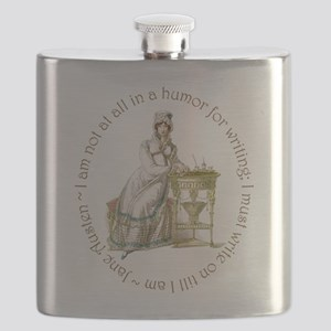 Jane Austen Writing Flask