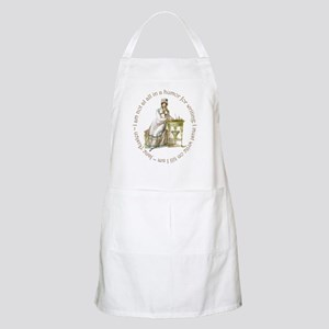 Jane Austen Writing Apron