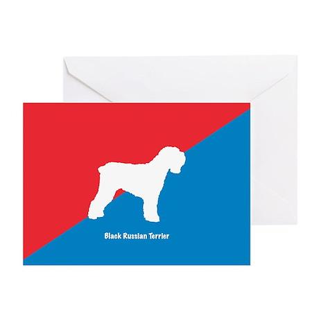 Terrier Diagonal Greeting Cards (Pk of 10)